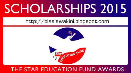 The Star Education Fund Scholarship Awards 2015