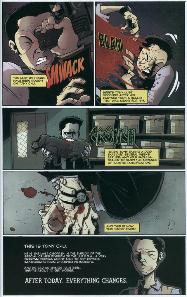 Chew #5 by John Layman and Rob Guillory