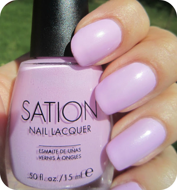 Lilac Nail Color: Concrete And Nail Polish: Sation Just Lilac That