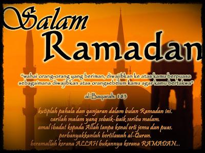 Salam Ramadhan Untuk Semua
