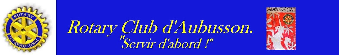 Rotary Club d'Aubusson.