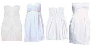 fotos de modelos de vestidos brancos
