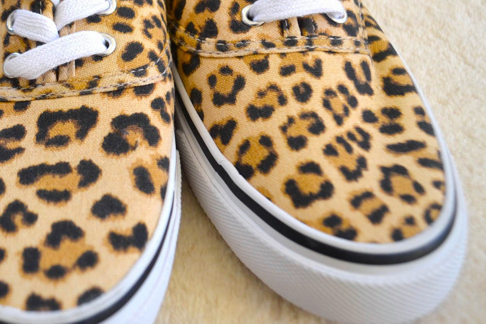 leopard sneakers H&M