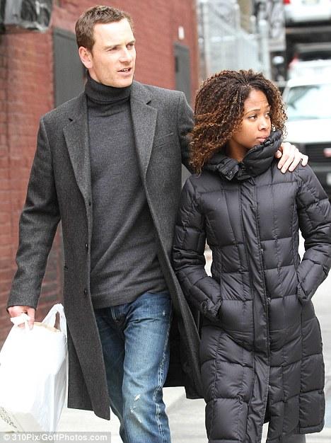 Michael fassbender dating black women