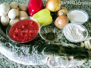 Mancare de peste la cuptor (Stiuca) ingrediente reteta