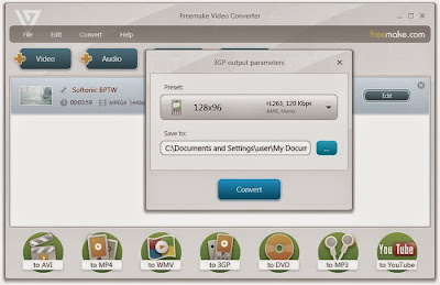 Freemake Video Converter Screenshot