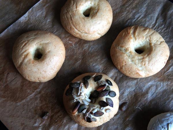 REZEPT: glutenfreie Bagels