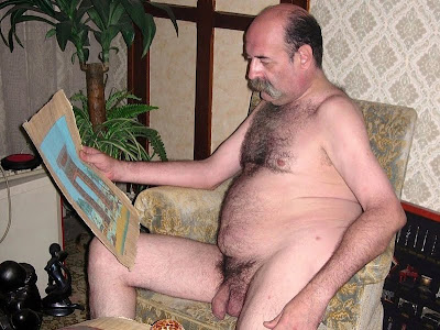 fat old men naked - porn mustache