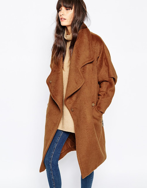 paisie brown coat, paisie tan coat, tan oversized coat,