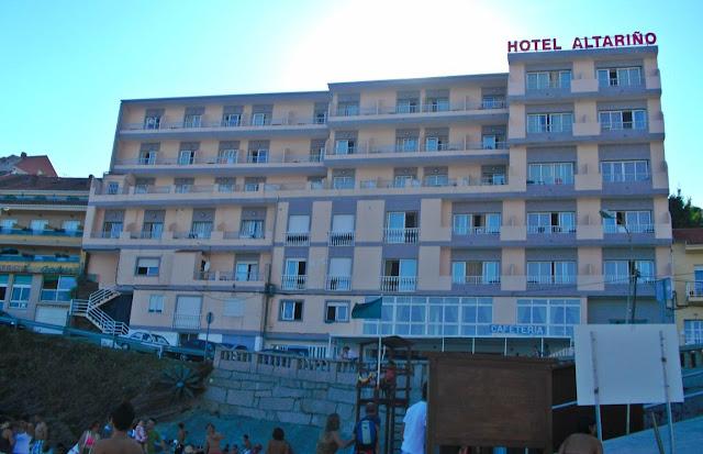 Portonovo Galicia Rías Baixas hotel altariño