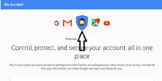 Mengganti foto akun google