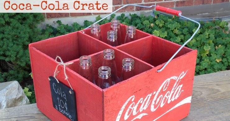 Diy Coca Cola Crate My Love 2 Create