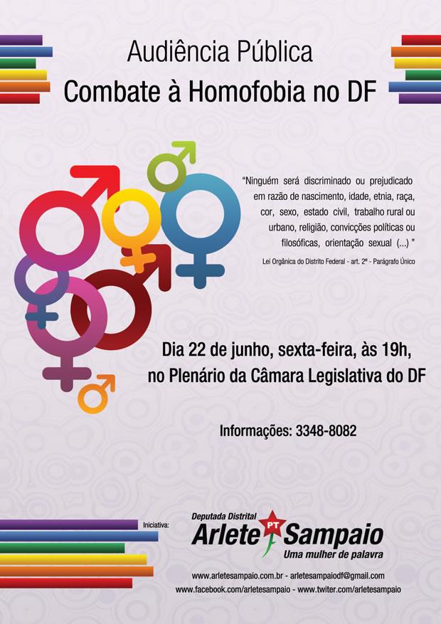 A deputada Arlete Sampaio (PT) promove nessa sexta 22/06, às 19h, no plenário da Câmara Legislativa (Foto: Divulgação)