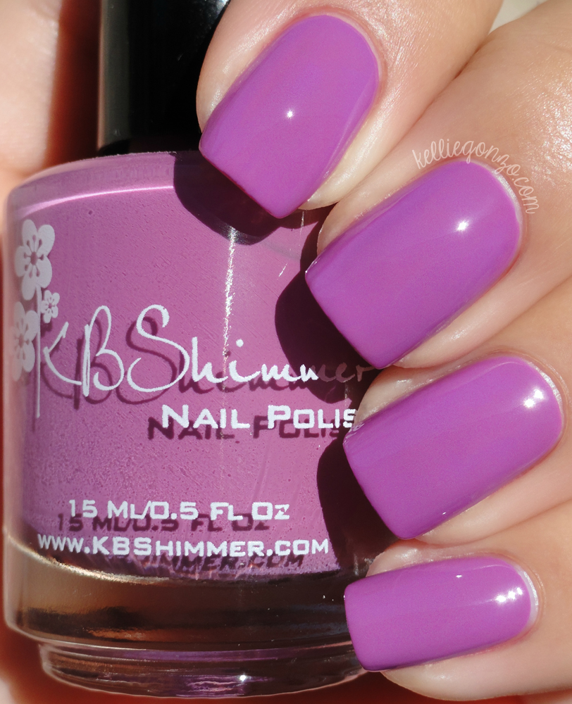 KBShimmer - Radiant Orchid | kelliegonzo
