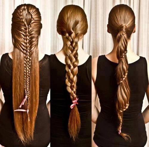 Hochsteckfrisur alltag lange haare