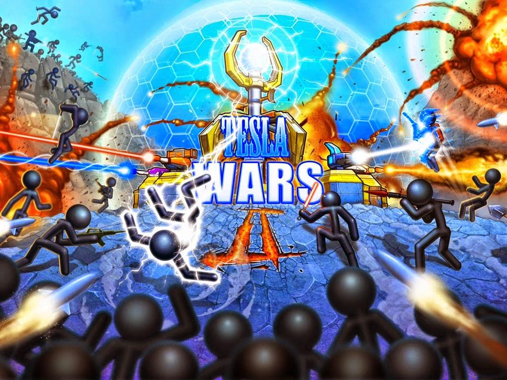 Download Free Tesla Wars - II Game v4.1.0 Unlimited Money Hack
