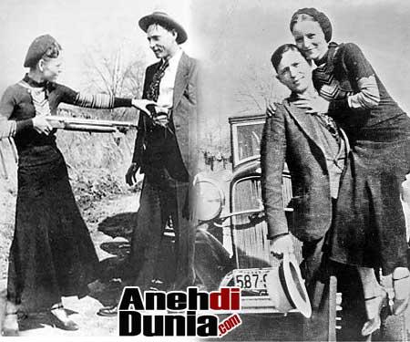 Kisah Bonnie Dan Clyde Kriminal Kelas Dunia