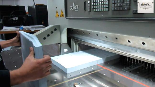 Massicot Polar Imprimerie Marocaine Solprint fes