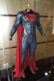 Henry Cavill Man of Steel Superman suit