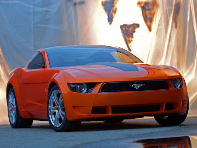 Ford Mustang Giugiaro Concept 2006 wallpaper
