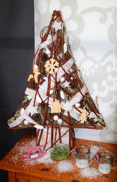 bloemstuk advent en kerst - kerstboom