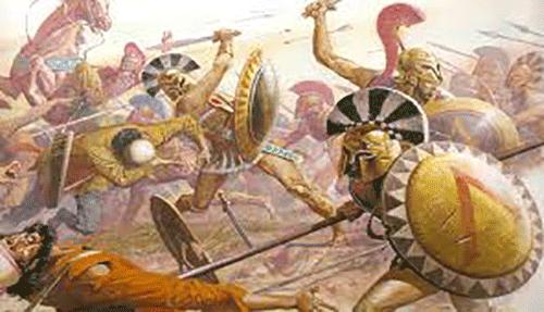 Ο Λεωτυχίδης και το θαύμα -Ένα φίδι τυλίχθηκε γύρω από το κλειδί μιας πόρτας. Οι μάντεις χαρακτήρισαν το γεγονός θαύμα. Ο Λεωτυχίδης όμως, βασιλιάς της Σπάρτης, θεώρησε αδικαιολόγητο τον χαρακτηρισμό.