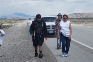 Nevada: Walk to protest water theft scheme