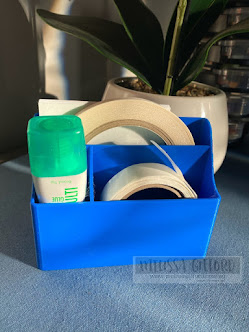 Adhesive Storage Caddy