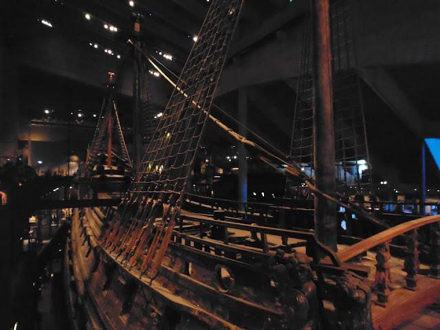En lo más alto de el Vasa