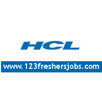 Freshers Openings at HCL in January 2015