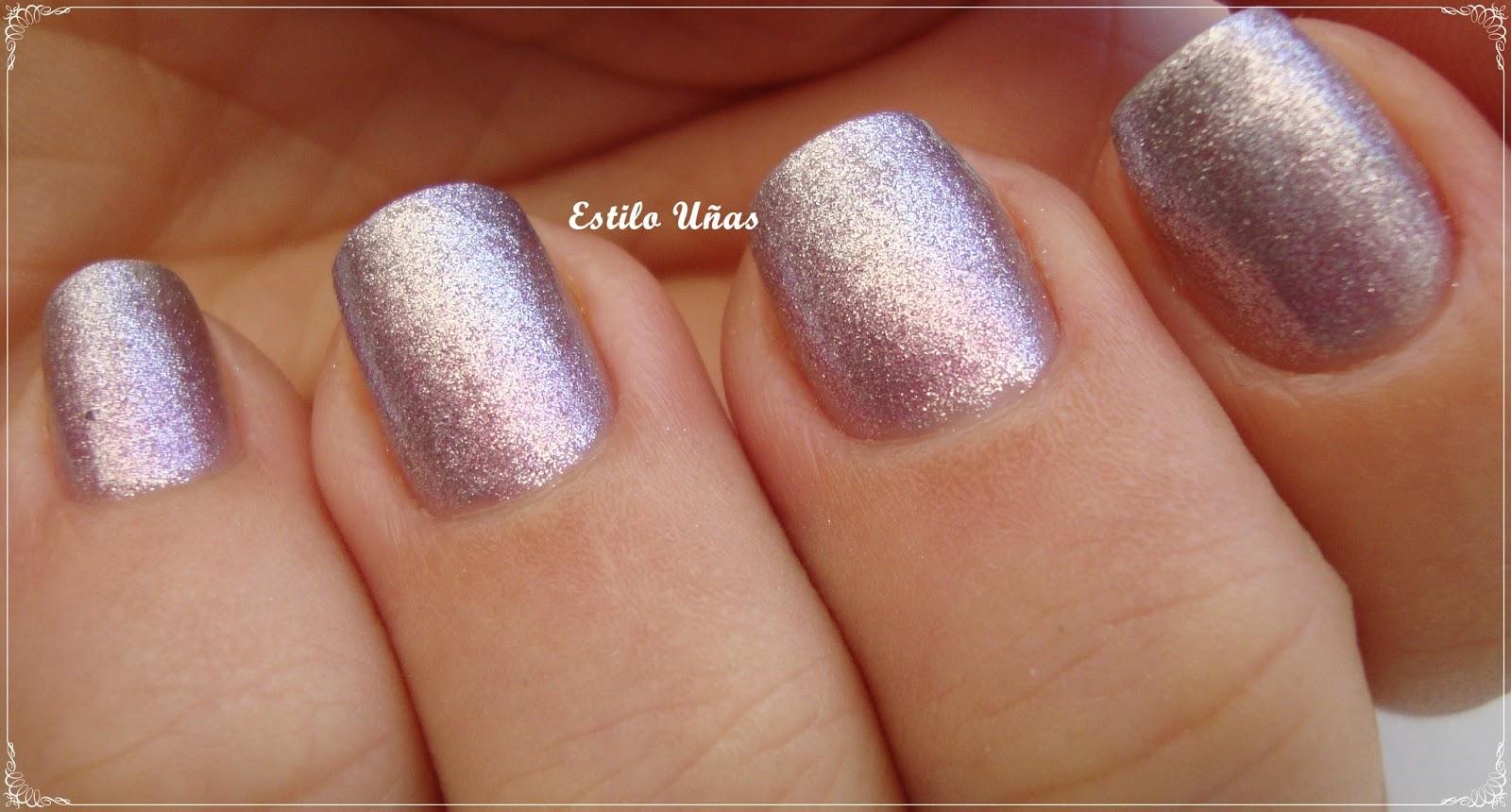 Estilo Uñas: Nail Art: Degradé metálico