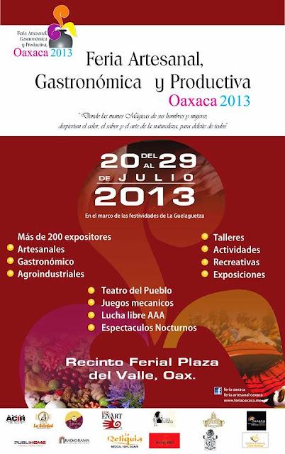 feria artesanal Oaxaca 2013