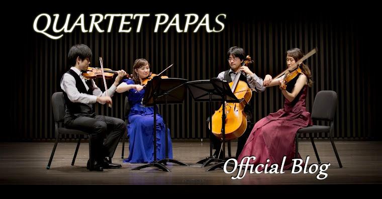 QUARTET PAPAS 公式ブログ