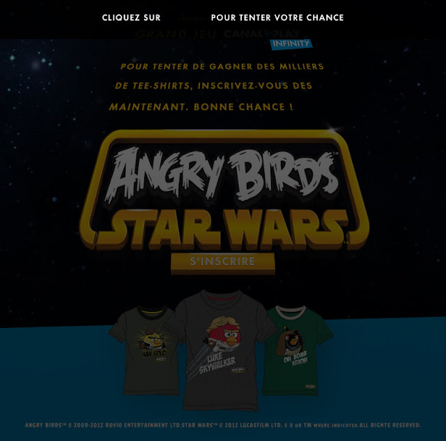 2800 T-shirts Angry Birds – Star Wars