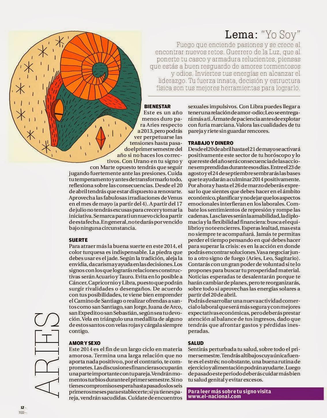 Horoscopo de Adriana Azzi 2014 Para Cada Signo