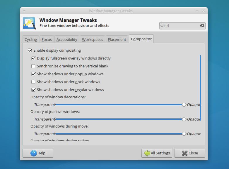 Xubuntu 14.04 LTS tweaks