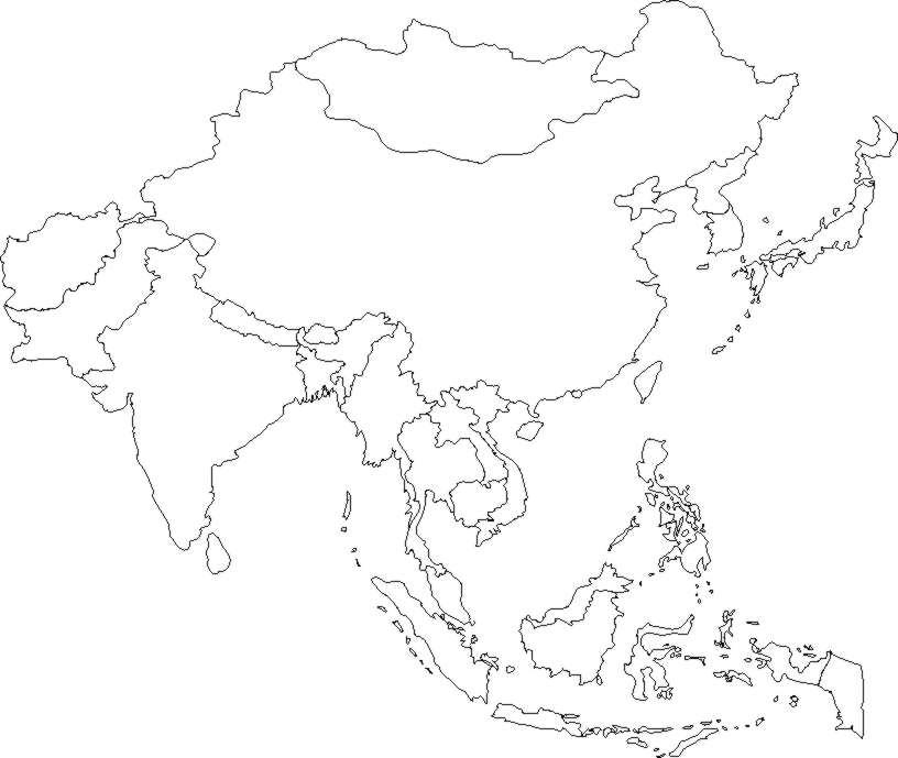 Todos los mapas de Asia para descargar - Foto Montajes de Famosos ...