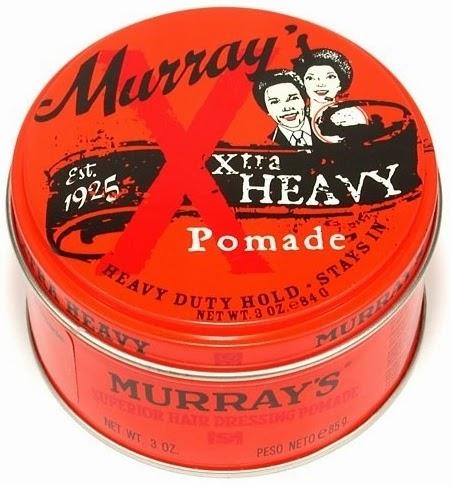 Murray's Xtra Heavy Hair Pomade - membuat rambut anda sangat kaku dan tetap mengkilap. Lebih kuat dan kaku dari Superior biasa.