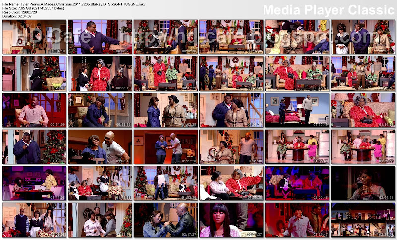 A Madea Christmas 2011 video thumbnails