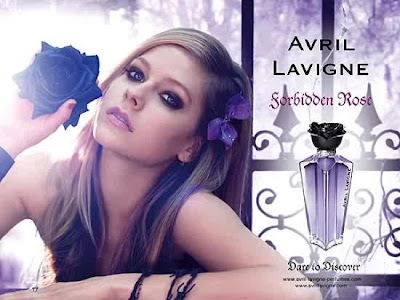 Avril Lavigne 'Forbidden Rose' Perfume set.