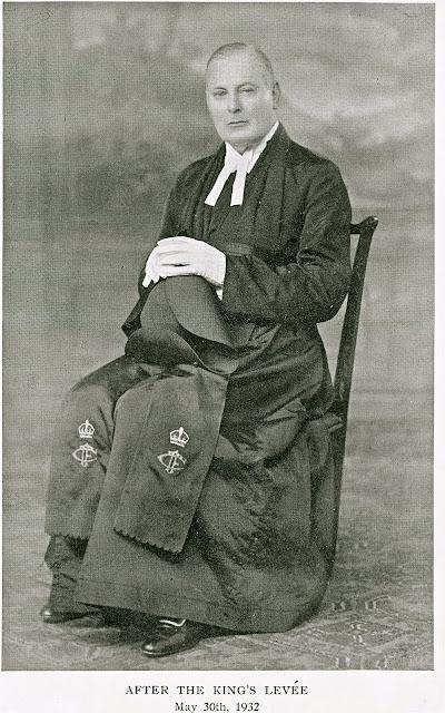 Portrait of the Reverend Basil Bouchier