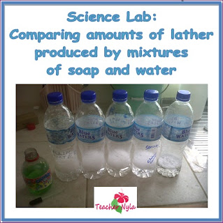 Hard and Soft Water Experiment Science, free science lab