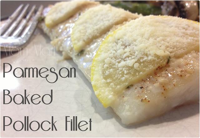 Parmesan Baked Pollock Fillet