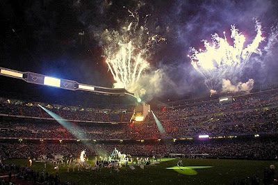 Real Madrid celebrates the 31st Spanish Championship at the Bernabeu
