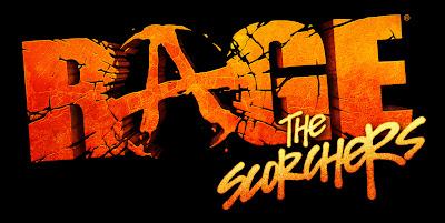 Rage: The Scorchers Logo - We Know Gamers