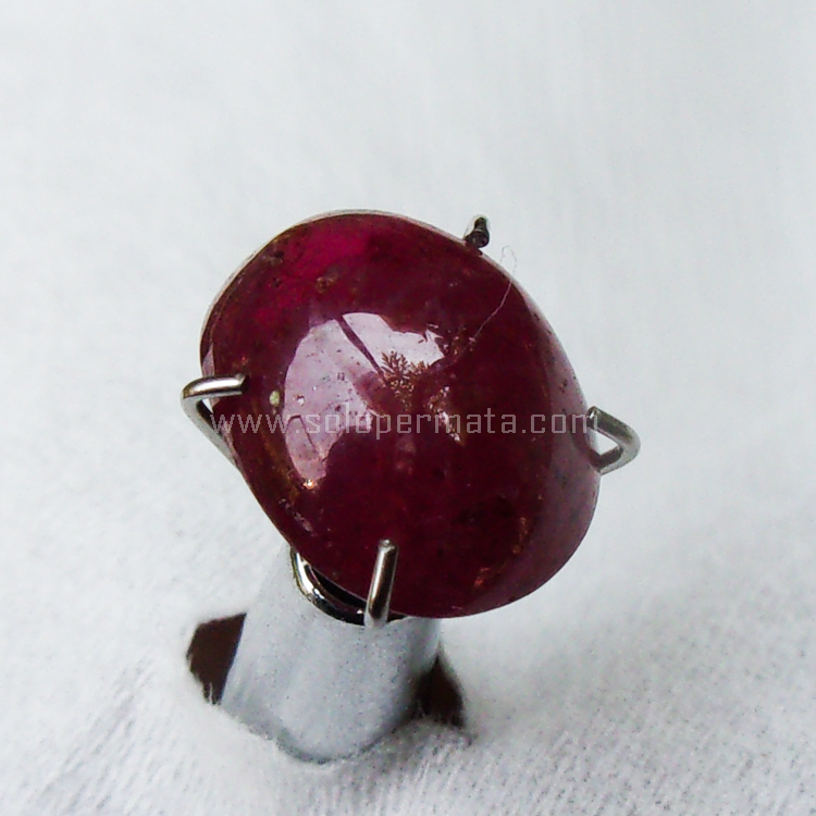 Batu Permata Natural Merah Ruby - SP966