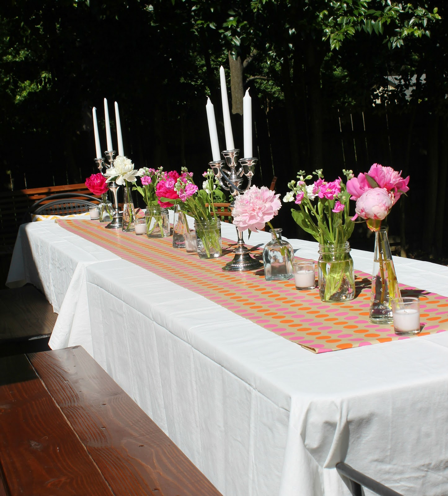 A Backyard Dinner Party