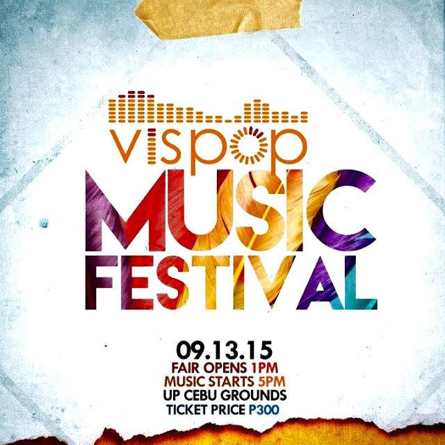 Vispop Music Festival, September 13 2015, Boklove, Therese Marie Villarante, Kurt Fick, Felipe Anjelo Calinawan
