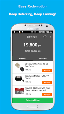 prodkt app refer and earn freecharge coupons
