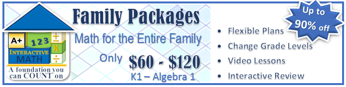 New Family Packages - up to 90% off